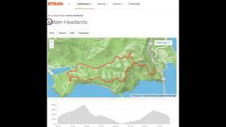 Strava instant route download to Garmin Edge