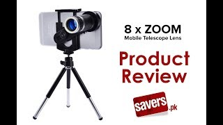 8 x ZOOM Mobile Telescope Camera Lens (3 months warranty)