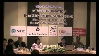 Aid Coordination Perspective from the Mekong Subregion (Part 2)