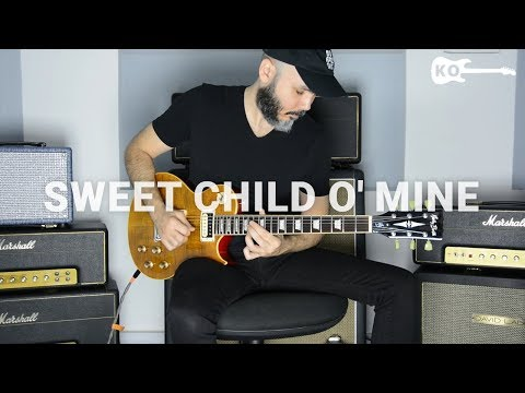 Guns N' Roses - Sweet Child O' Mine - Electric Guitar Cover By Kfir Ochaion