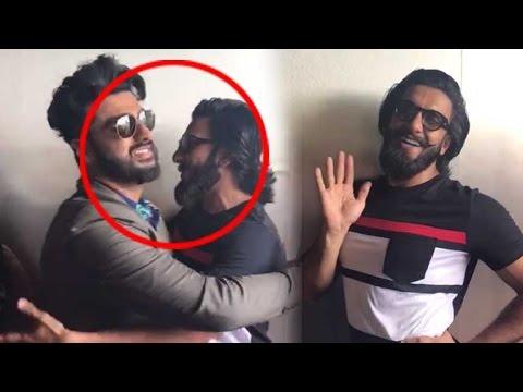 Arjun Kapoor HAPPY AND GAY With Real Half Girlfriend Ranveer Singh