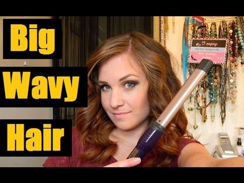 How I curl my hair - Babyliss Waving Wand - YouTube 570c68c2f03