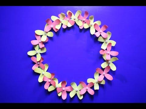diy-paper-wall-hanging-craft-idea-|-diy-wall-hanging-decoration-|-simple-paper-craft-|-craft-idea