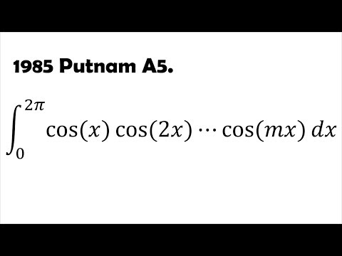 Difficult but Fun Integration Question (1985 Putnam A5)