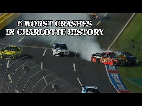 Top 6 Worst Nascar Crashes at Charlotte Motor Speedway