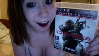 Crysis 3 [PS3] Unboxing!!!!!
