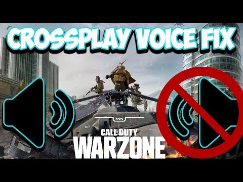 Warzone Crossplay Voice Chat Fix - ???