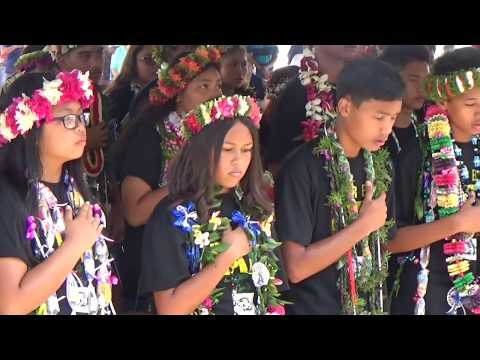 CNMI (Northern Marianas) Anthem Tanapag Middle School Graduation Class of 2017