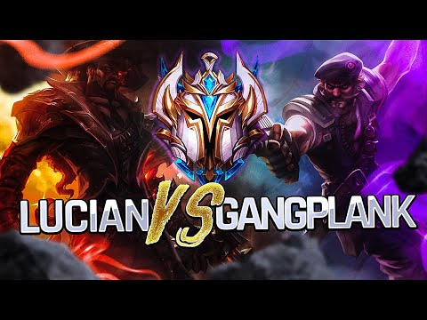(Challenger) How to dominate Lucian Top as Gangplank