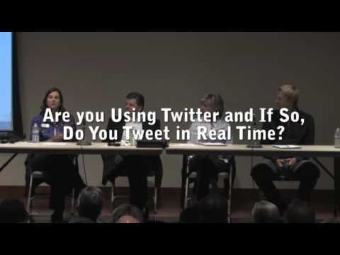 Question 5:  Social Media Discussion Panel-Reno Nevada