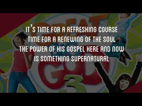 Hop On The Bus   Great Big God  Lyric Video Vineyard UK Kids Worship