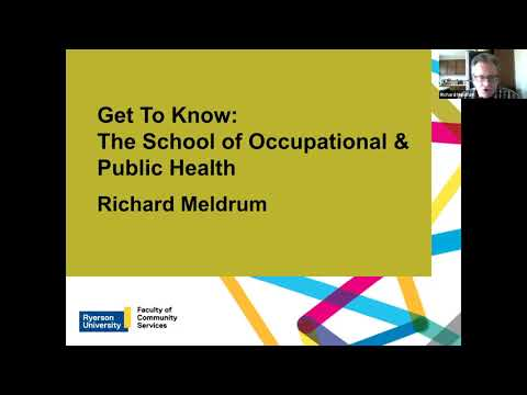 Get to know: Occupational Health and Safety, Public Health (Virtual Open House)