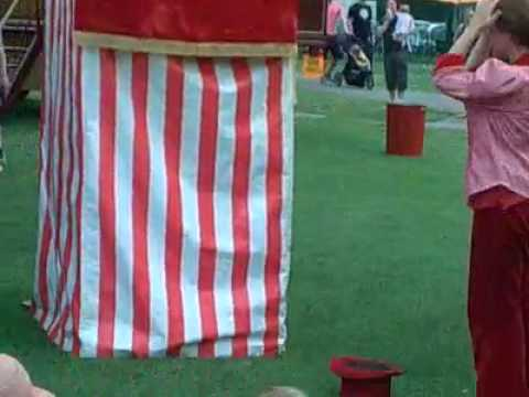 Watching Punch & Judy! Belair Park...Daddy took you.