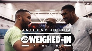 Anthony Joshua On The Pads Talks Potential Dillian Whyte Rematch and More - JD Weighed-In