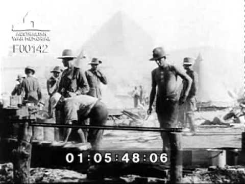 Before Gallipoli: The Australian Imperial Force (AIF) in the Egyptian Desert (1915)