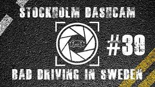 Bad Driving in Sweden #39 // Stealing turns! // Stockholm Dashcam thumbnail