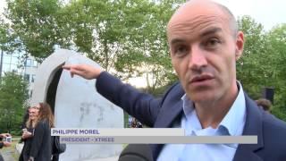 Vélizy : inauguration du 1er bâtiment d'Europe fabriqué en 3D