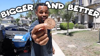 Game Of BIGGER & BETTER | We Turned A PENNY Into..