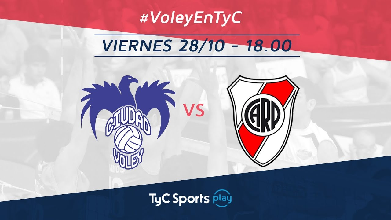 Copa ACLAV: Ciudad Voley vs. River Plate | #VoleyEnTyC ...