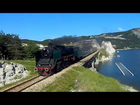 Bulgaria steam trip BDZ [HD]