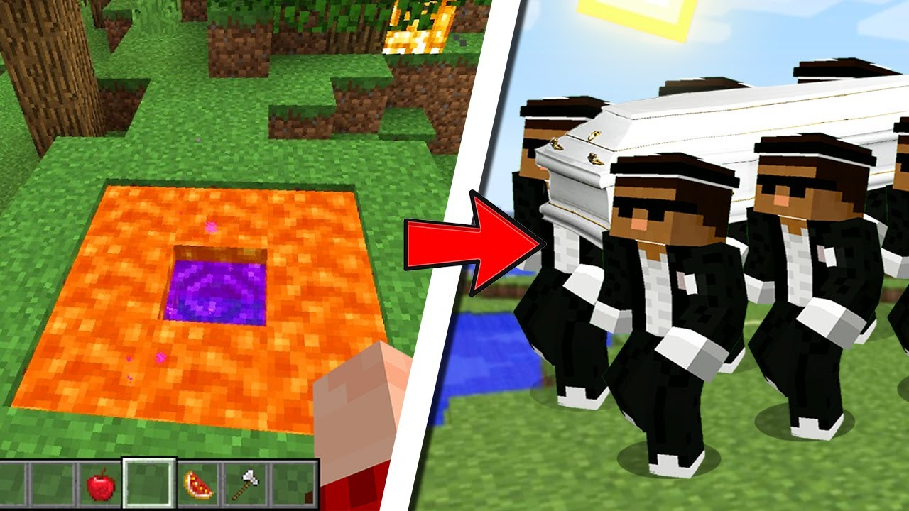 Cursed Coffin Minecraft Meme Astronomia Noob Youtube