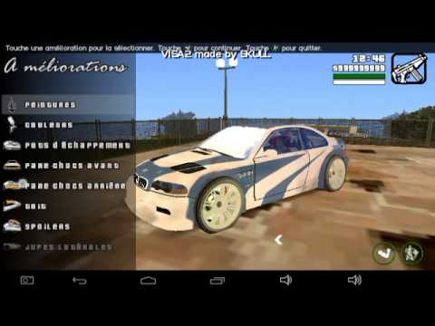 Gta san andreas android need for speed mods youtube for Need for speed android