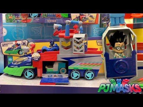 PJ Masks Seeker Huge Truck Found By Mom
