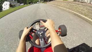 First Test Drive with Torque Converter! - Go Kart Build Part 4
