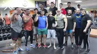Реальная качалка в Казахстане #XXXL  [фитнес-клуб Sportika]