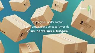 Já imaginou poder contar com embalagens de papel livres de vírus, bactérias e fungos?