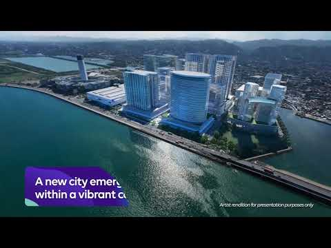 South Coast City's District Square - Prime waterside commercial district in Cebu