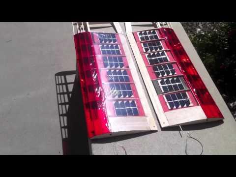 UCI Solar Plane: Solar Demo