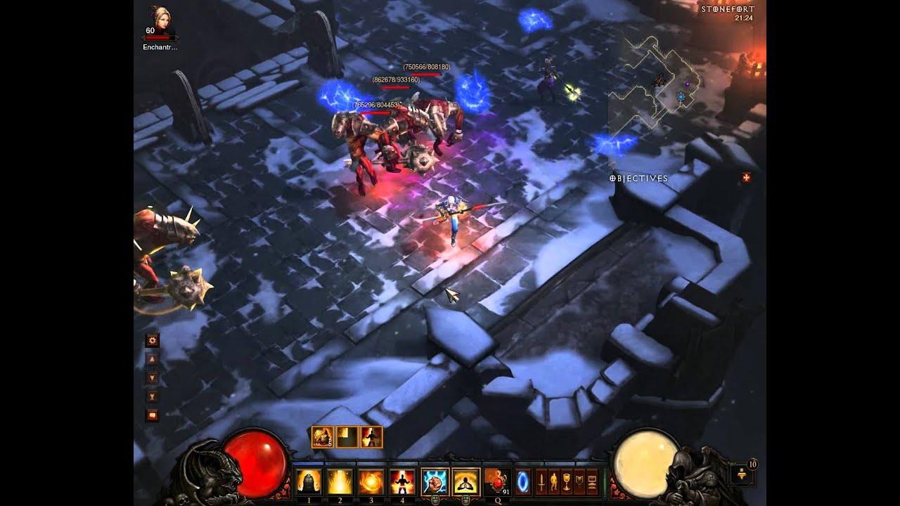 Download Diablo 3 Monk Solo Inferno Wave of Light Elite pack Nuke