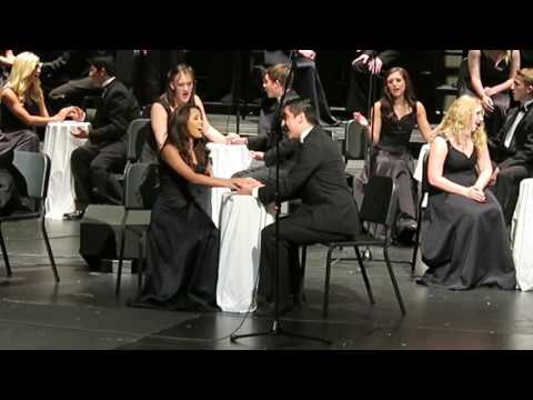 "Boswell High School Texas Choir ""The Argument"" by Francis J. Nesta"