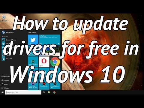 How to easily update your drivers for free in windows 10
