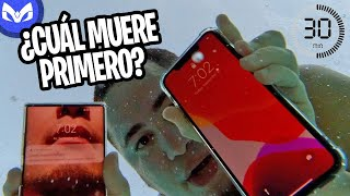 30 MINUTOS BAJO AGUA PRUEBA - iPhone 11 Pro Max vs Galaxy Note 10 Plus