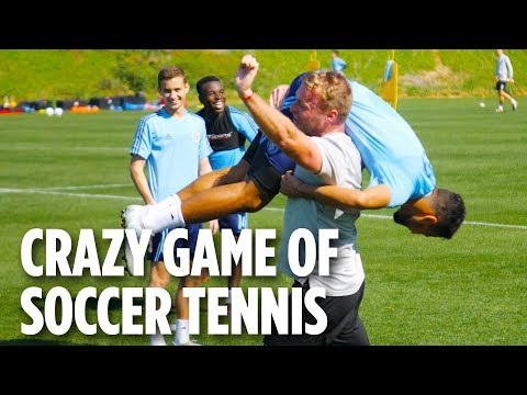 Crazy Game of Soccer Tennis | PRESEASON 2018