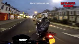 Motorcycle thieves trying to steal moving motorbike? | Motorbike Monday
