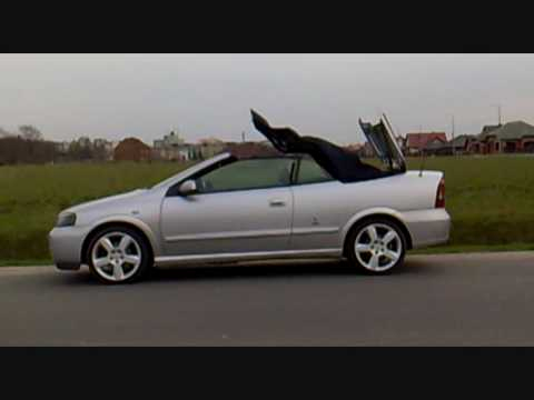 sk adanie dachu opel astra g cabrio top down youtube. Black Bedroom Furniture Sets. Home Design Ideas