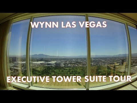 Luxury in Vegas - Wynn Tower Suites - Executive Suite tour