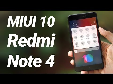 MIUI 10 on Redmi Note 4 First Look