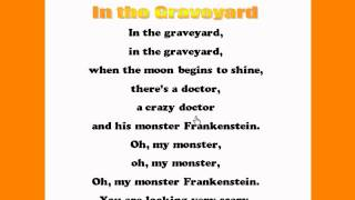 In the Graveyard - Kids Halloween Rhymes and Songs - Kids Read and Sing