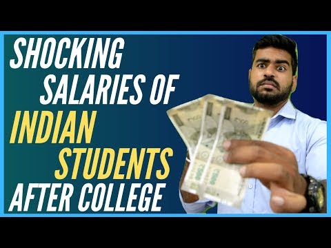 Shocking Salary of Indian Students After College | BBA | BA | Bcom | Bsc | BCA | Btech | Engineering