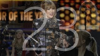 Taylor Swift - the complete history of the AMAs