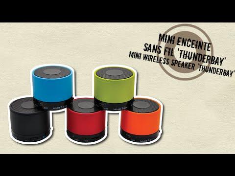 Baladéo - Enceinte Bluetooth 'Thunder bay' / Speaker Bluetooth 'Thunder bay'