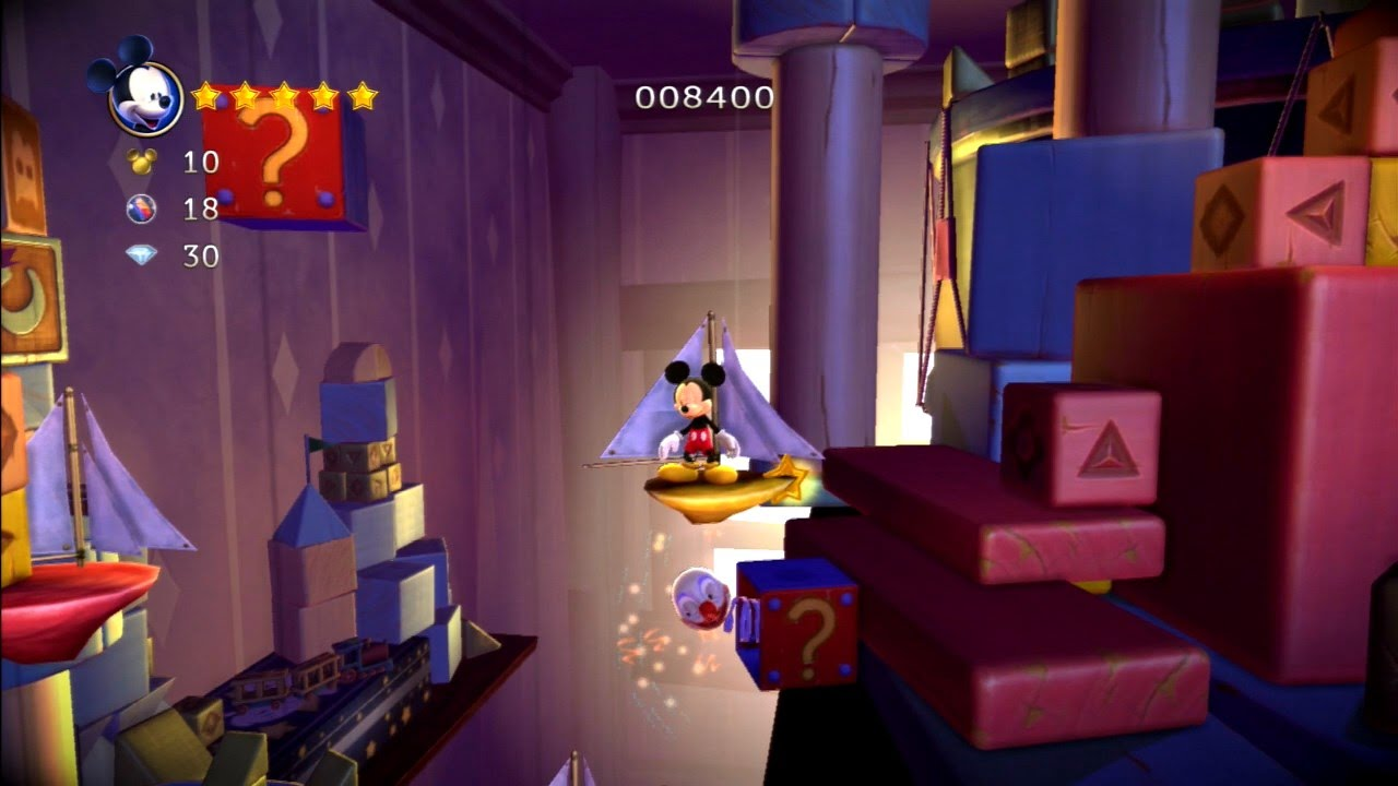 Castle Of Illusion Starring Mickey Mouse Remake Soundtrack 16bits Psn Ps3 77 Longplay Hd 60fps Youtube