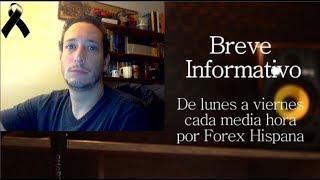 Breve informativo - Noticias Forex del 18 de Septiembre 2018