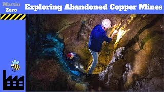 The abandoned Copper Mines of Alderley Edge