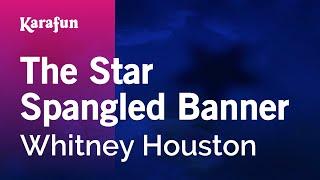Karaoke The Star Spangled Banner - Whitney Houston *