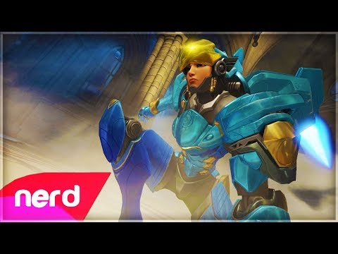 Overwatch Song  Justice Rains From Above Pharah Song  #NerdOut! ft Halocene & Valkia
